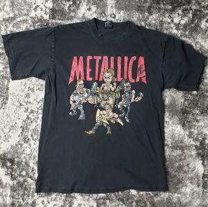 Vintage Metallica 1997 Poor Touring Me Concert